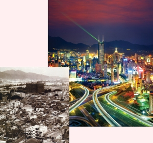 Shenzhen Before and After Free Zone Economic Development
