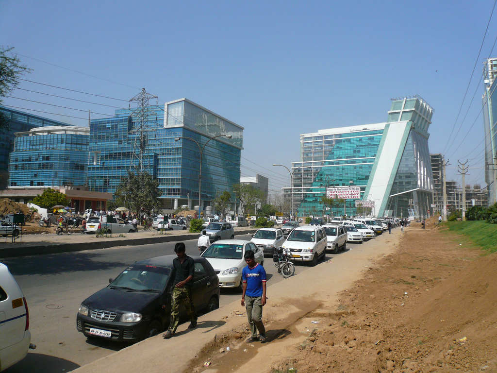 Gurgaon india lessons for a free cities future let a for Soil gurgaon
